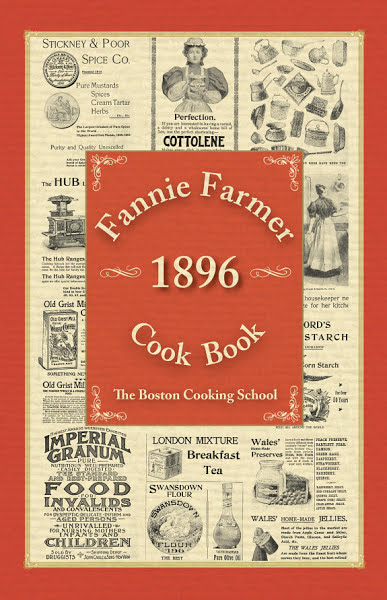 Fanny Farmer Cookbook – 1896